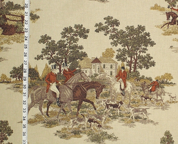 P.Kaufmann's Horse and Hound Fabric