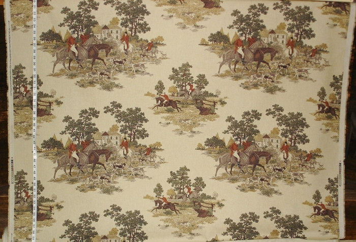 Horse and Hound Fabric