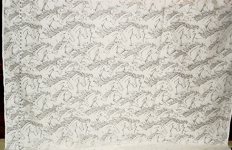 Horse Lace Fabric