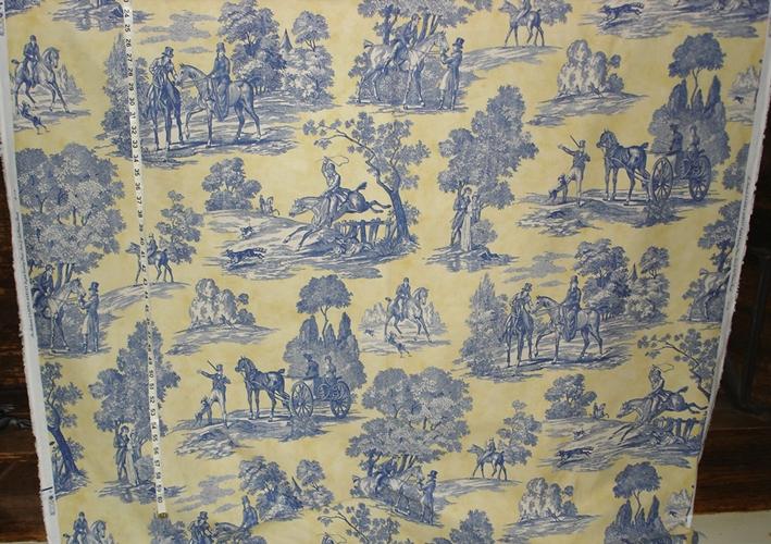 Laura Ashley Equestrian Fabric