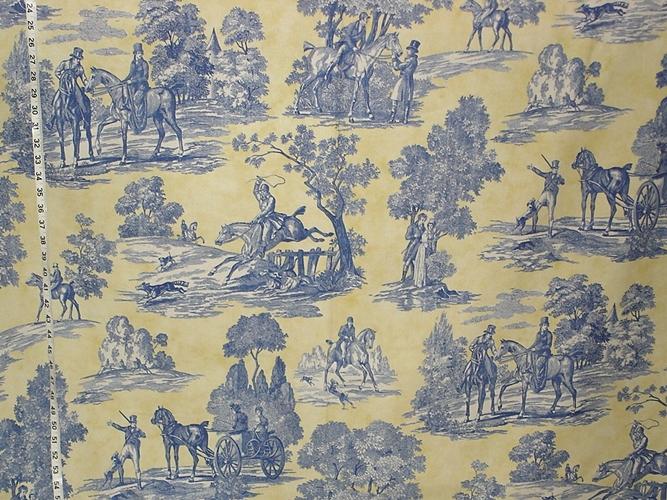 """Laura Ashley """"Tally Ho"""" fabric"""