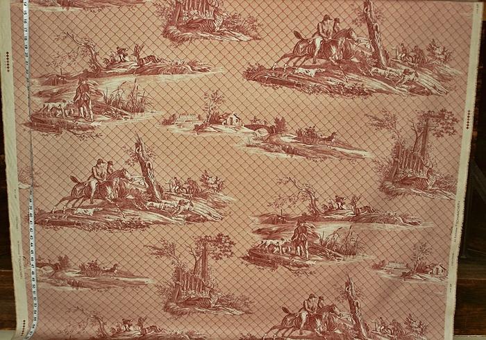 Schumacher Horse Toile Fabric