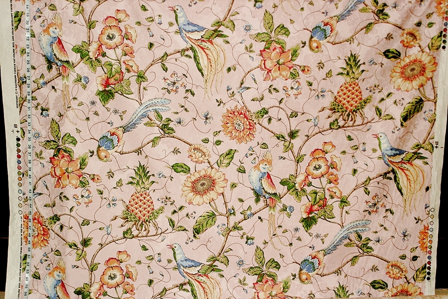 Pink Cockatoo Fabric