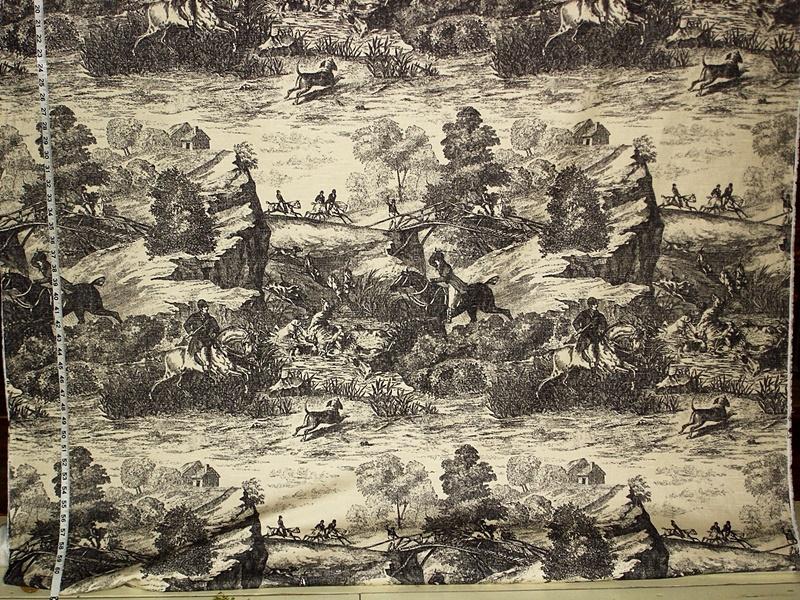 HORSE HUNT FABRIC