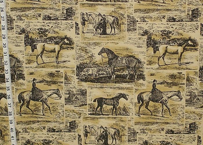 Waverly Fabric Polo Promenade