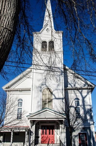 BRICK HOUSE FABRICS- in the old METHODIST CHURCH, BRUNSWICK, Maine