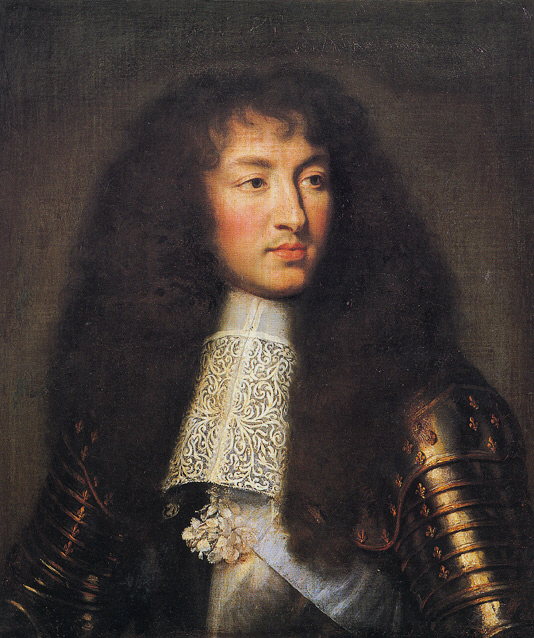 Louie XIV, the Sun King 1661, Attributed to Charles Le Brun