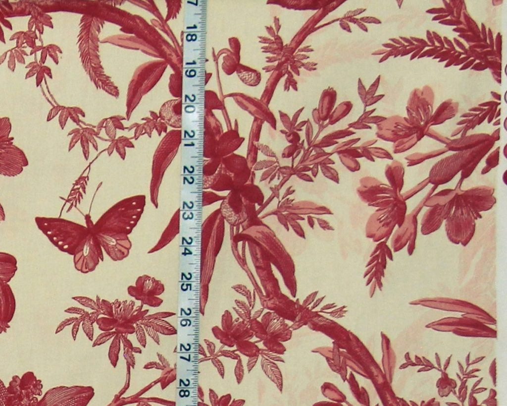 P.Kaufmann Aviary Toile Fabric- Misprint