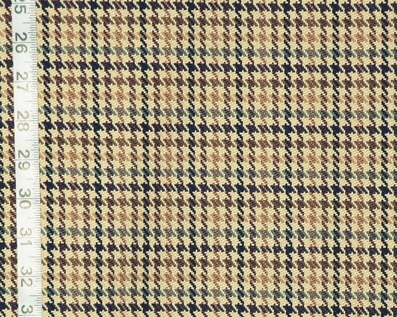 Small brown houndstooth plaid