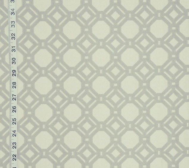 Reversible grey lattice fabric