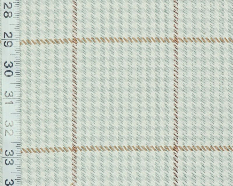 A window pane plaid fabric