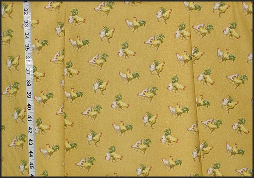 Small Chicken Fabric