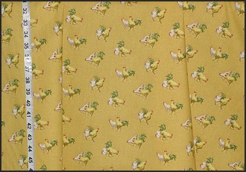 Small Chicken Fabric