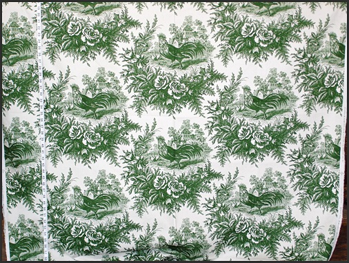 Stroheim and Romann Country Rooster Fabric