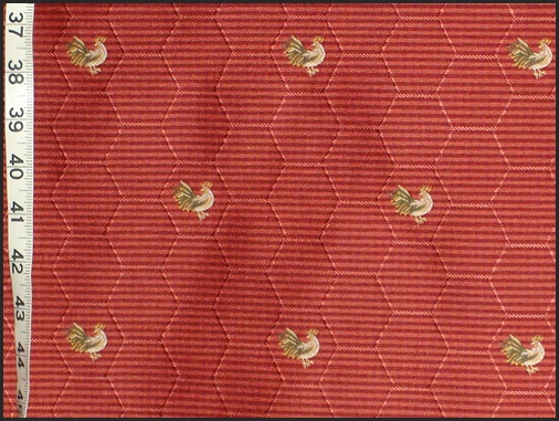 Waverly Fabrics Chicken Wire Chicken Upholstery Fabric