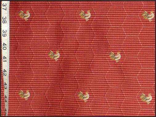 Waverly Fabrics Chicken Wire Chicken Upholstery Fabric