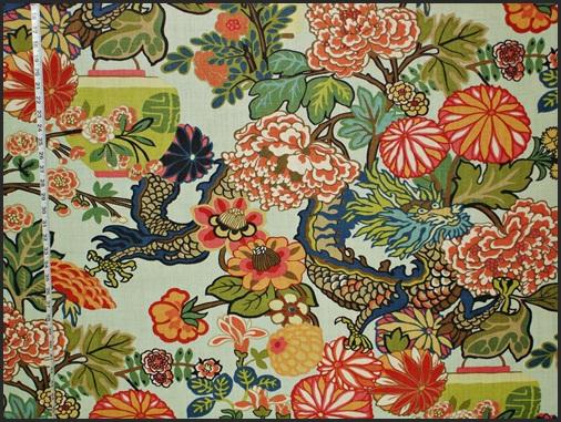 Ming Dragon, Schumacher Fabrics