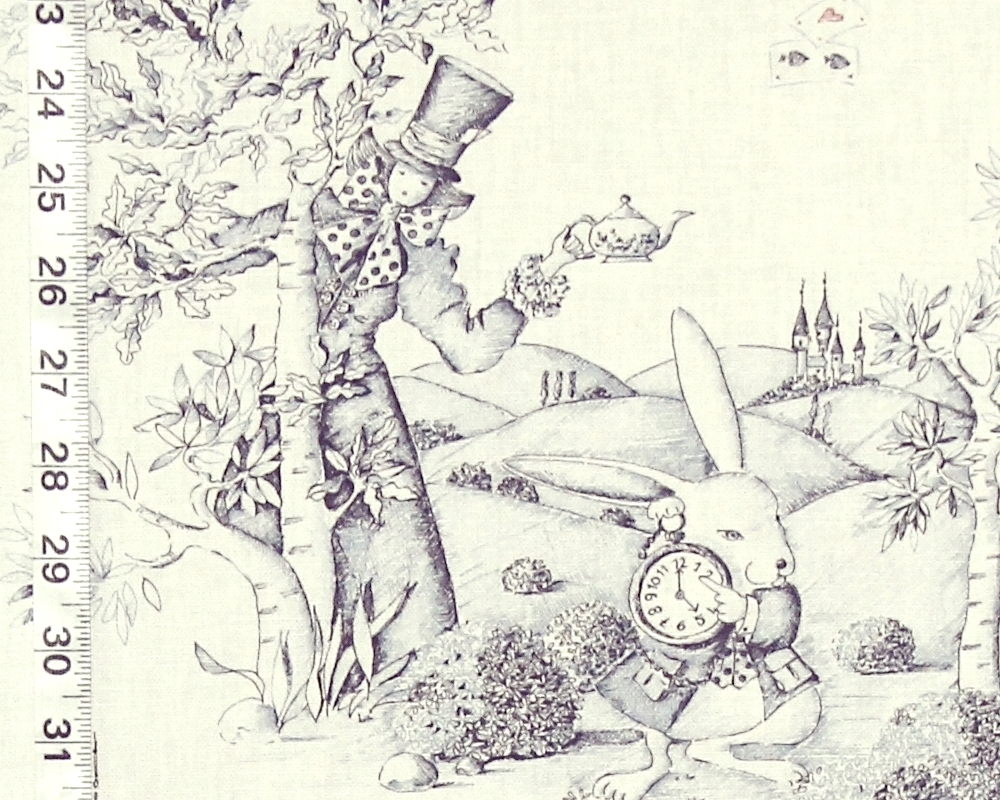 The White Rabbit and the Mad Hatter
