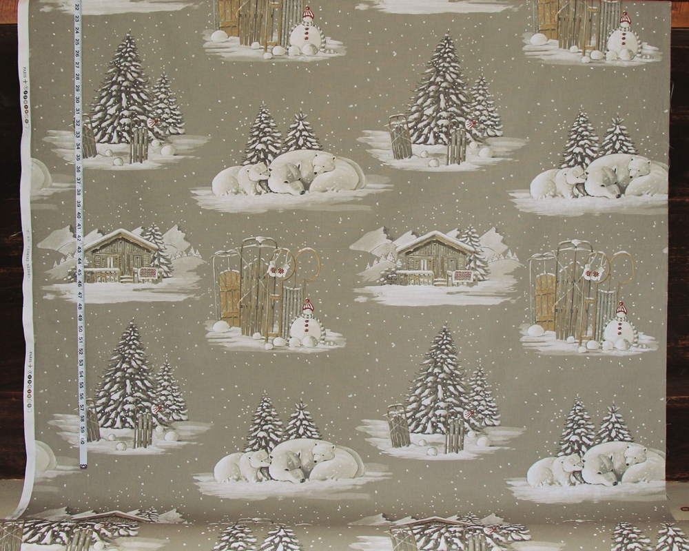 Winter Fabric And Pillows For Alpine Lodge Decorating
