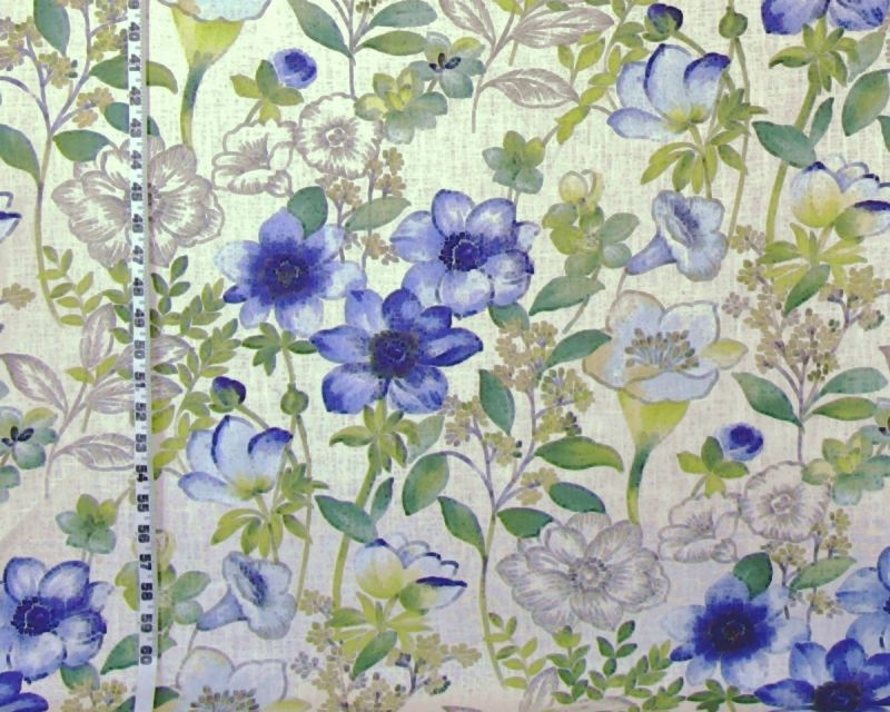 ANEMONE MEADOW FABRIC