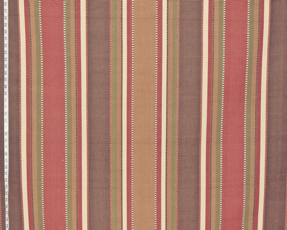 Brown orange southwestern fabric wide stripe gold green Red Earth ...