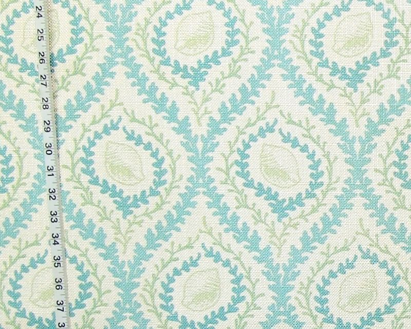 BLUE and GREEN SHELL FABRIC