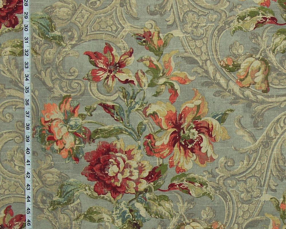 ARCHITECTURE FLORAL FABRIC
