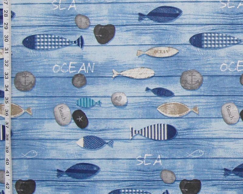 FISH BEACH FABRIC