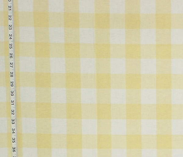 YELLOW BUFFALO CHECK FABRIC