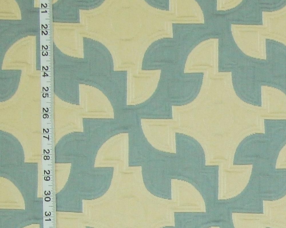 Clarence House Drunkard's Path Fabric