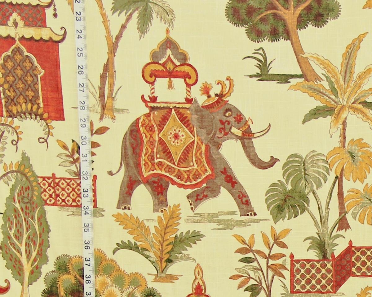 INDIAN ELEPHANT FABRIC