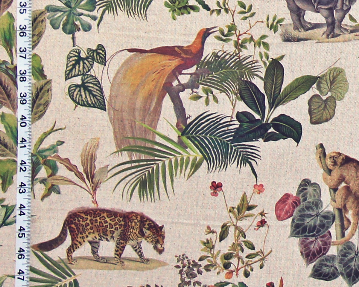 FLORAL and FAUNA FABRIC