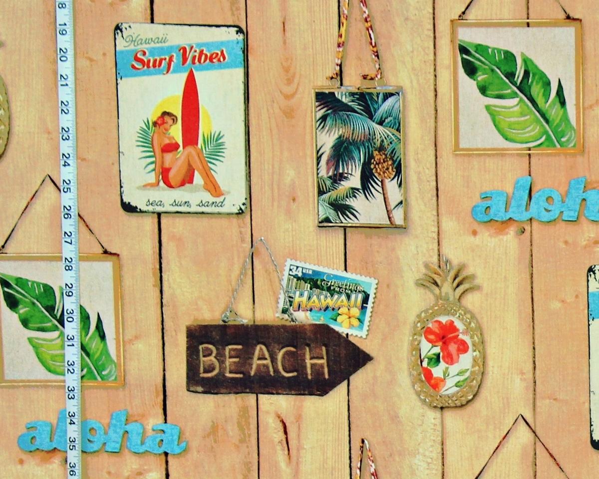 HAWAIIAN BEACH FABRIC