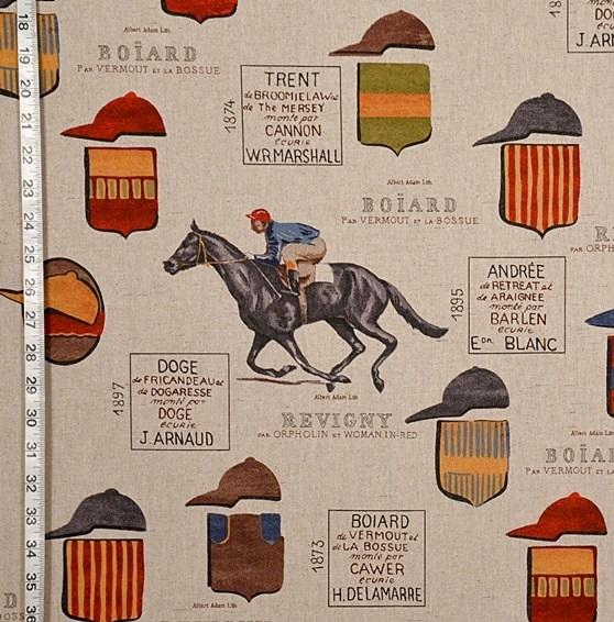 HORSE RACING JOCKEY FABRIC