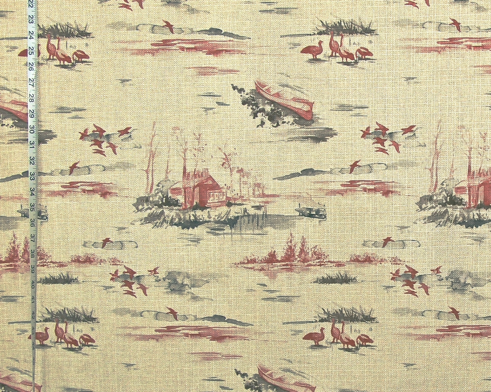 RED LAKE CABIN FABRIC