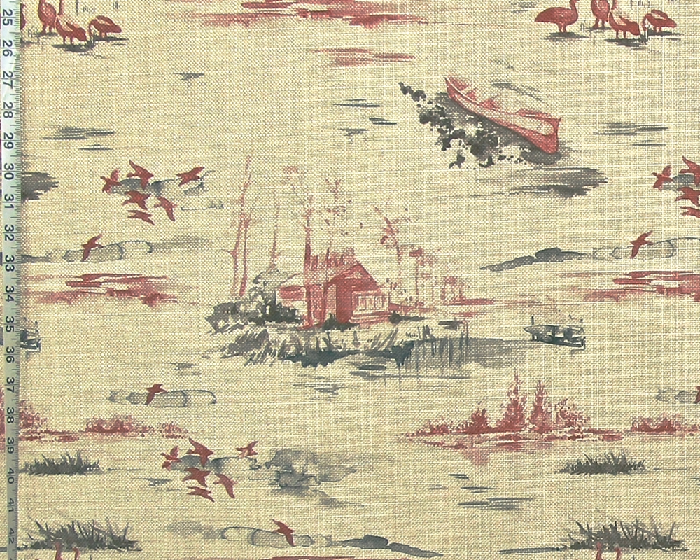 Lake Cabin Fabric