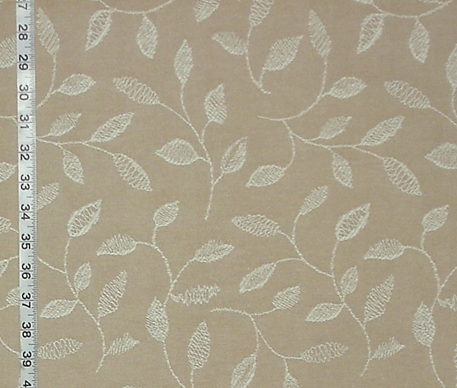 EMBROIDERED LEAF FABRIC