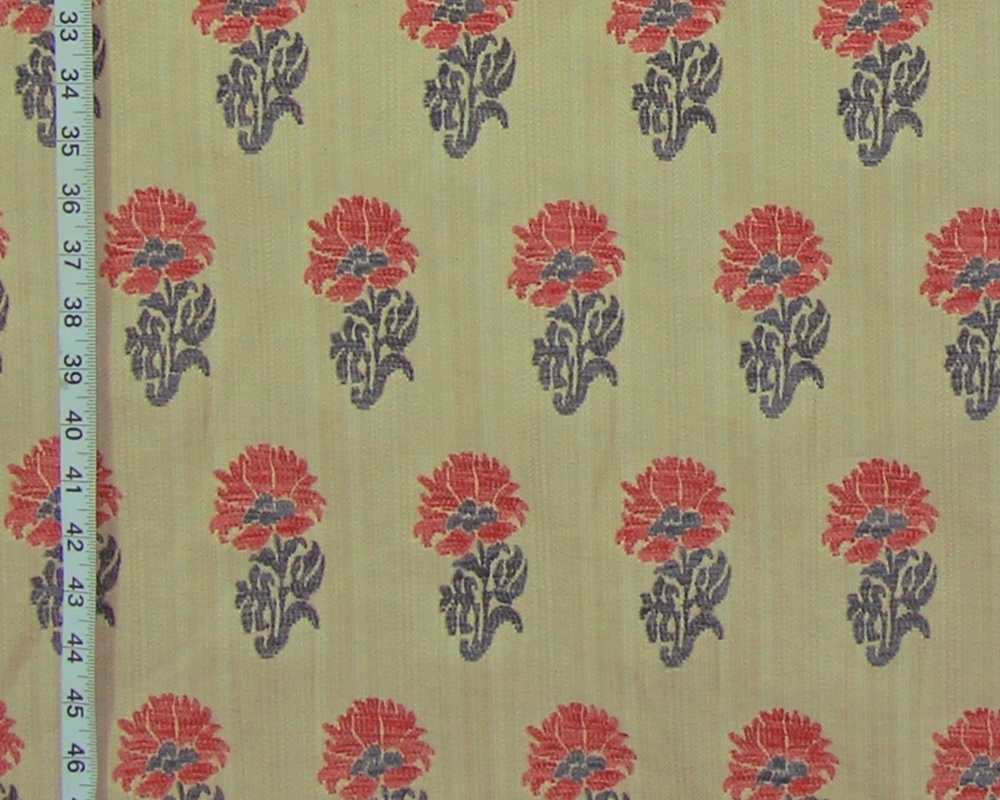 Clarence House Fl Upholstery Fabric