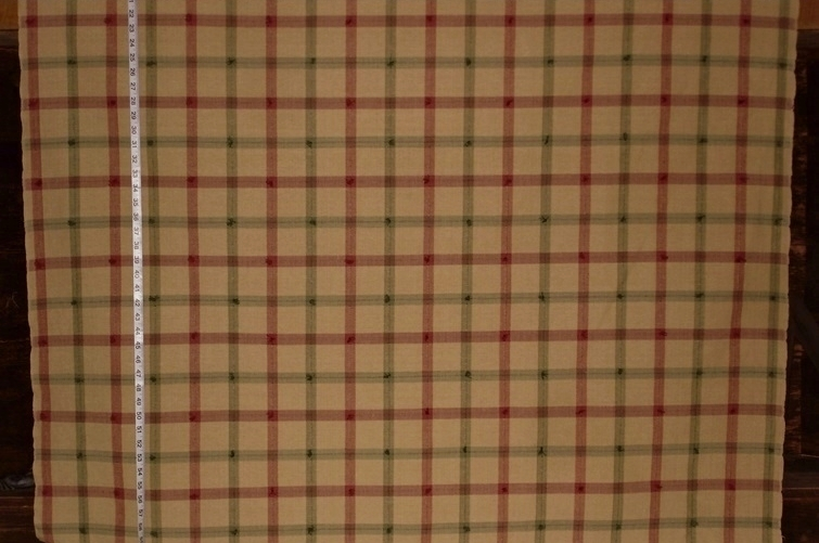 New Windowpane Plaid Fabrics Brickhouse Fabrics