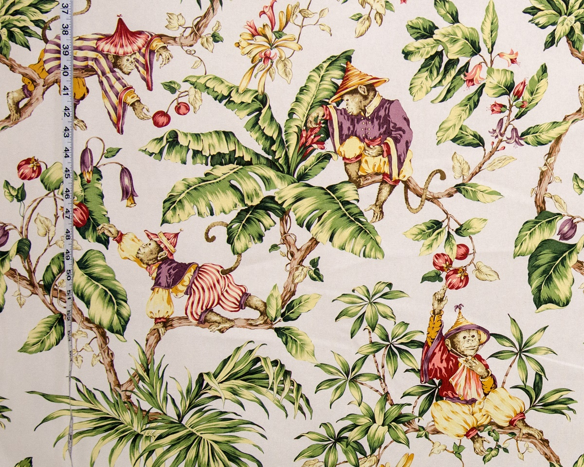 MONKEY JUNGLE FABRIC