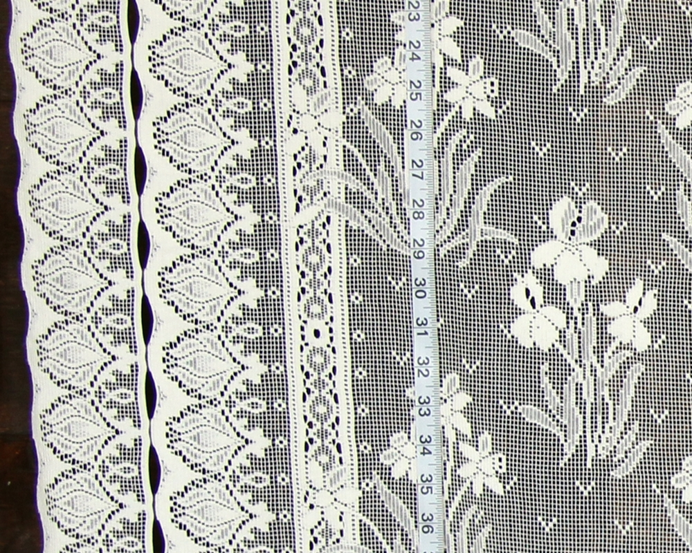 DOUBLE BORDER LACE FABRIC