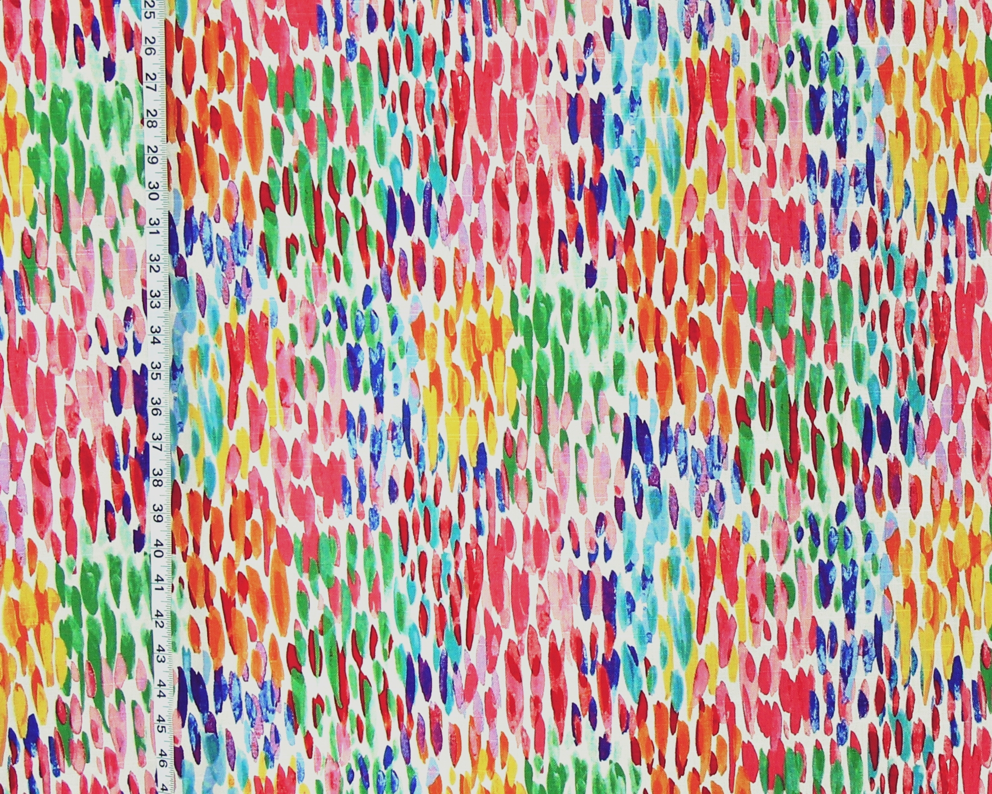WATERCOLOR PAINT BRUSH FABRIC