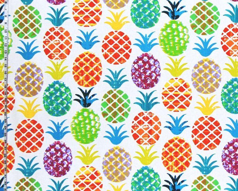 Tropical pineapple fabric