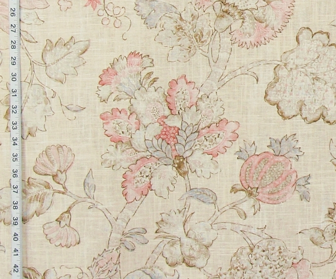 PASTEL PINK INDIENNE FABRIC