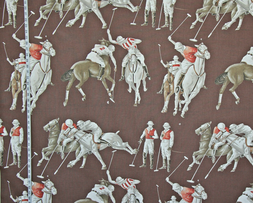 Equestrian polo fabric