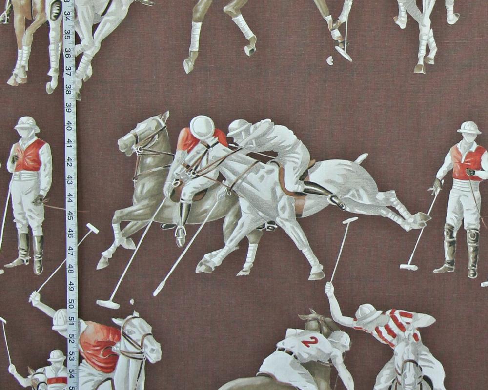 Polo horse fabric