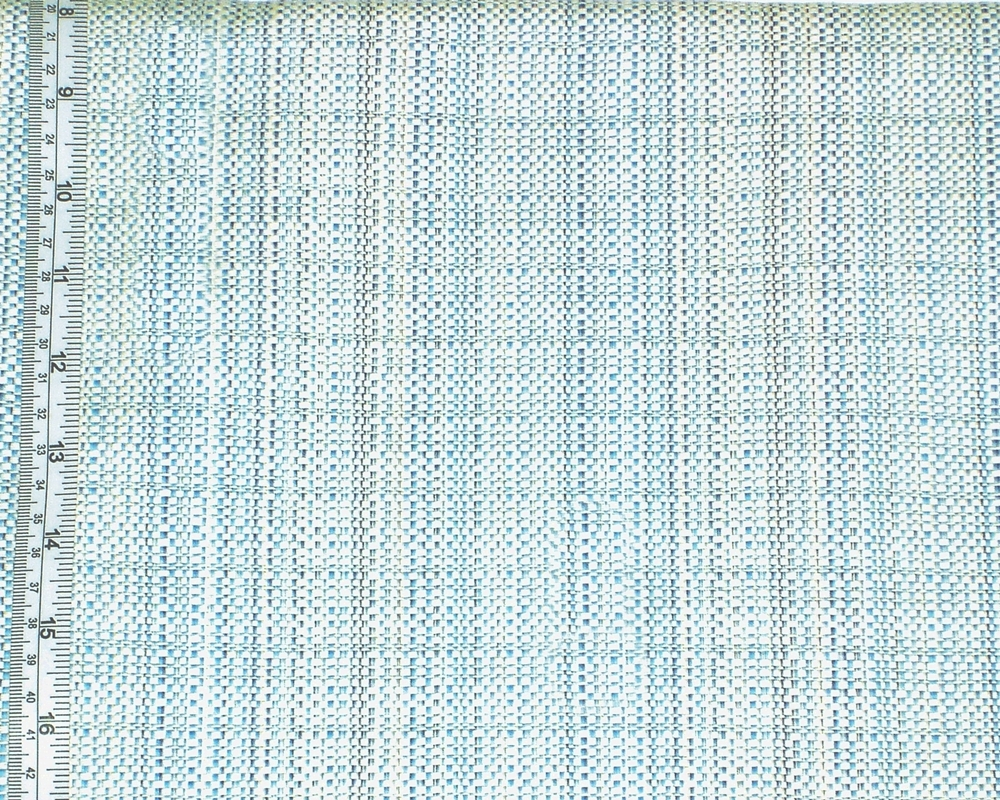 BLUE TWEED FABRIC