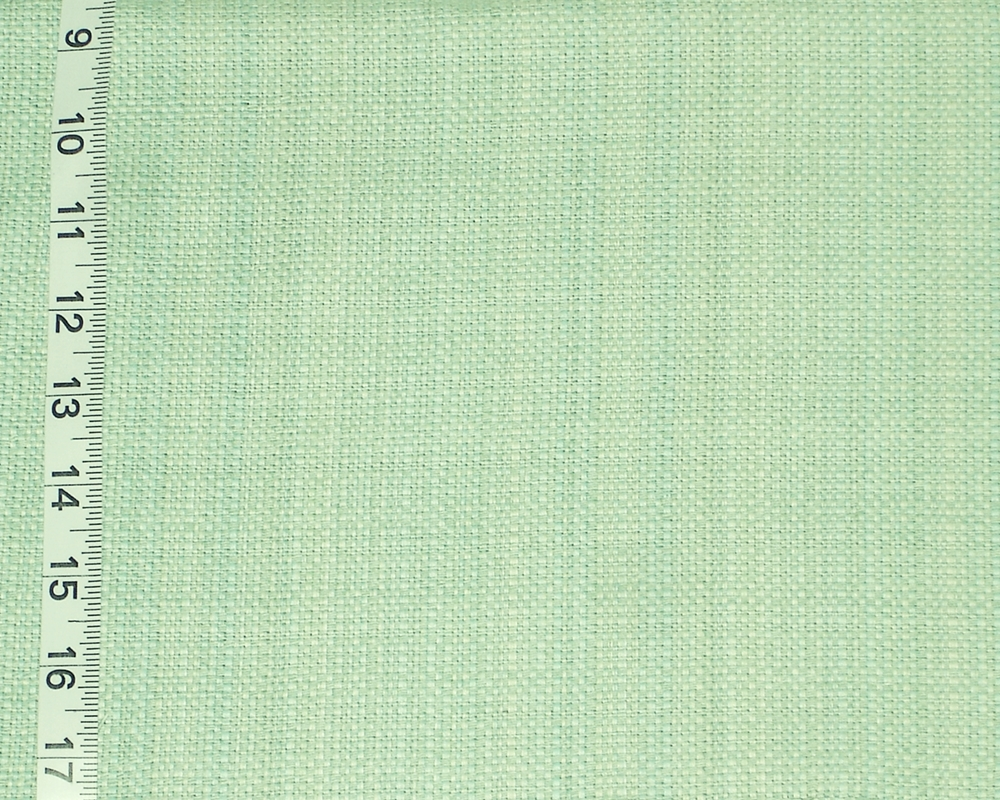 GREEN BLUE TWEED FABRIC