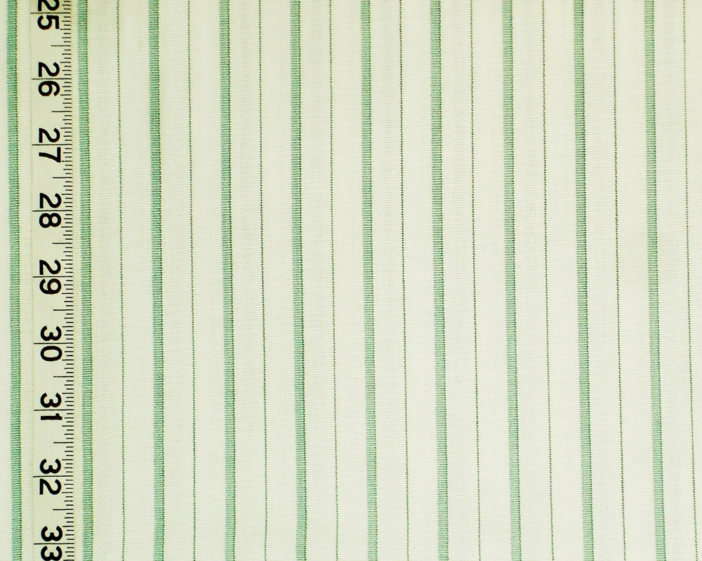 AQUA STRIPE FABRIC SEAGLASS