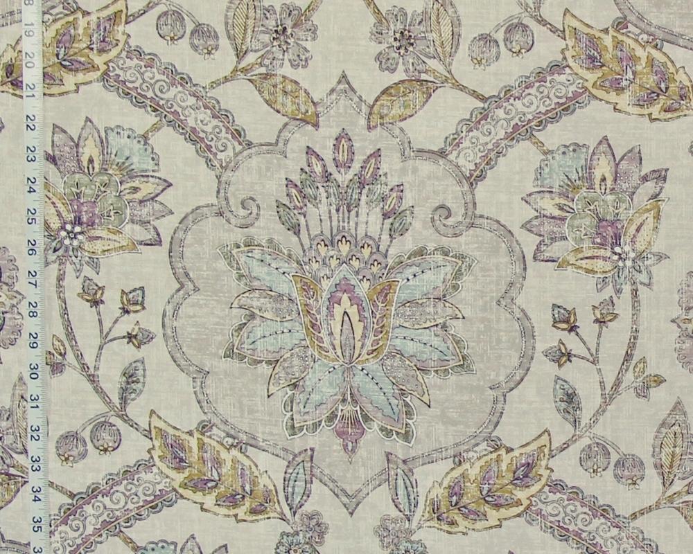 Fabric tree pattern - Roman Floral Fresco Fabric Tree Of Life Rug Grey Purple